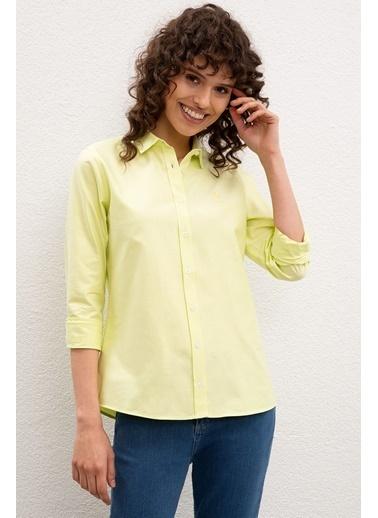 U.S. Polo Assn. Gömlek Sarı